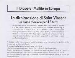 La Dichiarazione di Saint Vincent