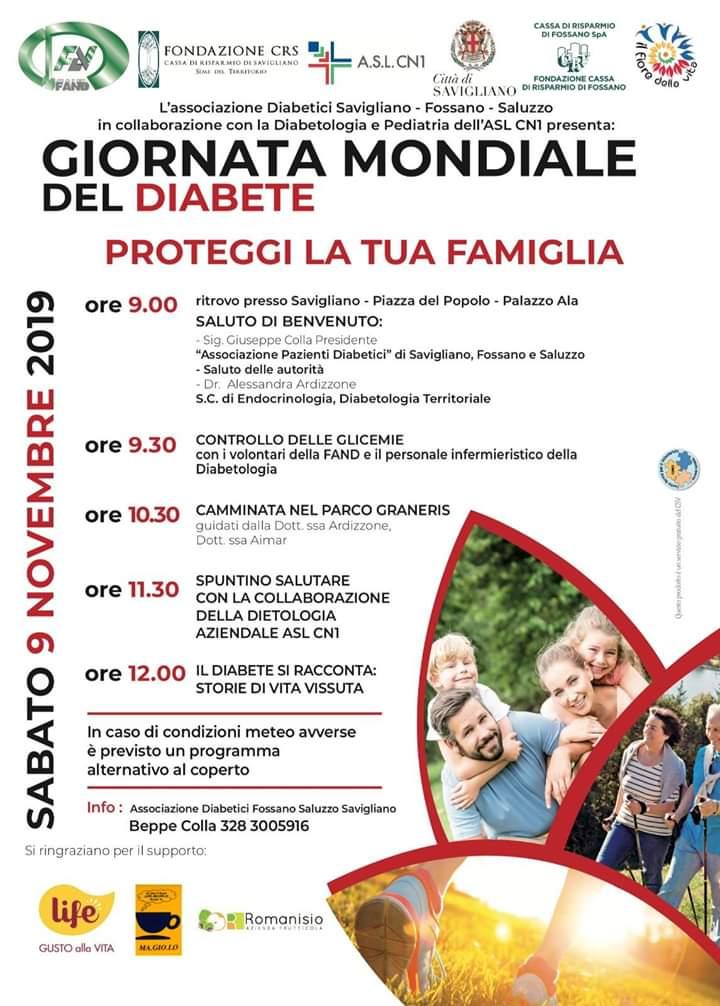 Proteggi la tua famiglia – Camminata nel parco Graneris – Savigliano