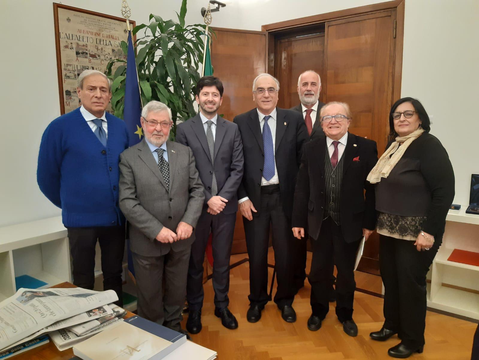 La FAND Incontra il Ministro della Salute On. Roberto Speranza