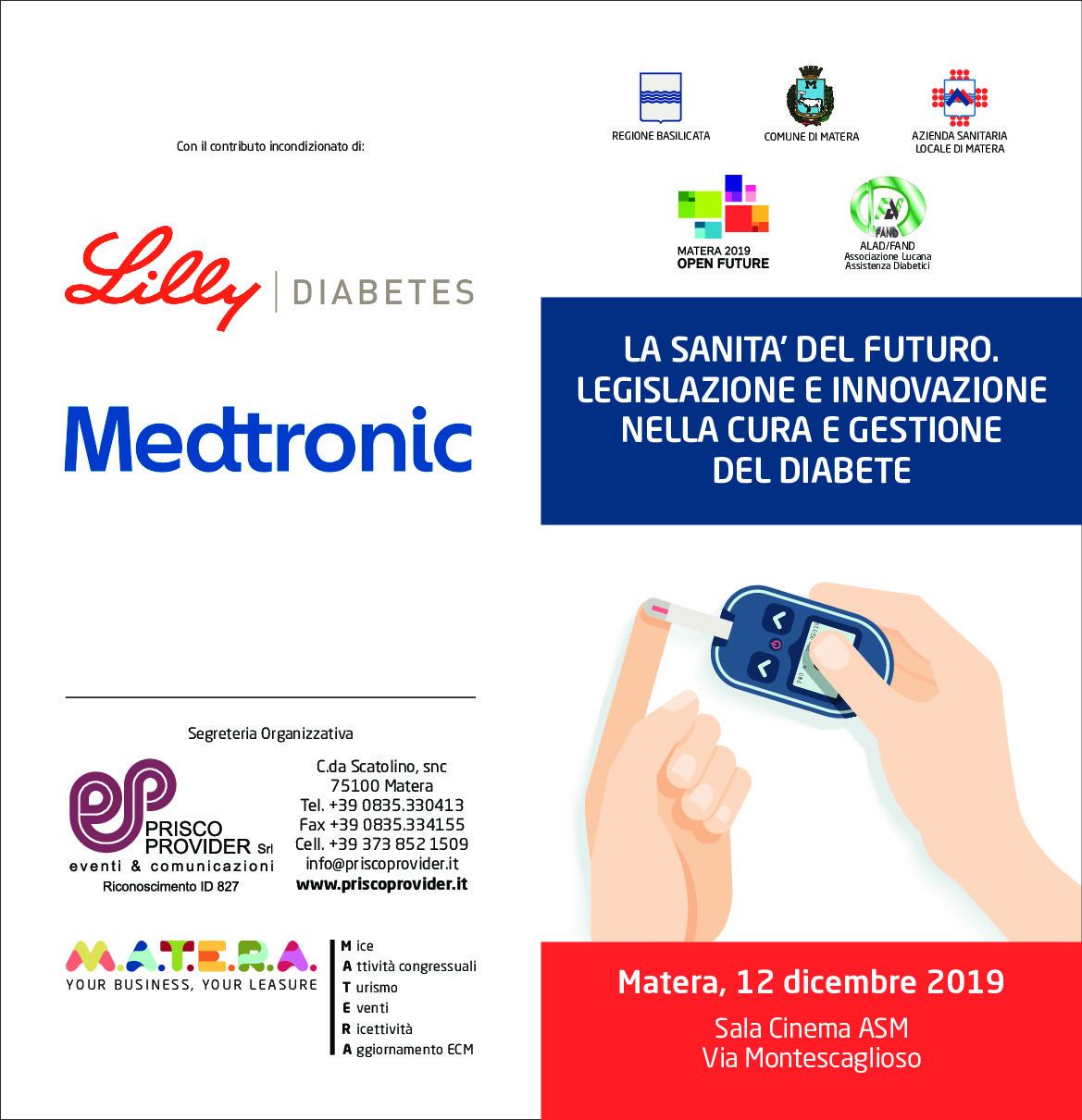 La Sanità del futuro, legislazione e innovazione nella cura e gestione del diabete