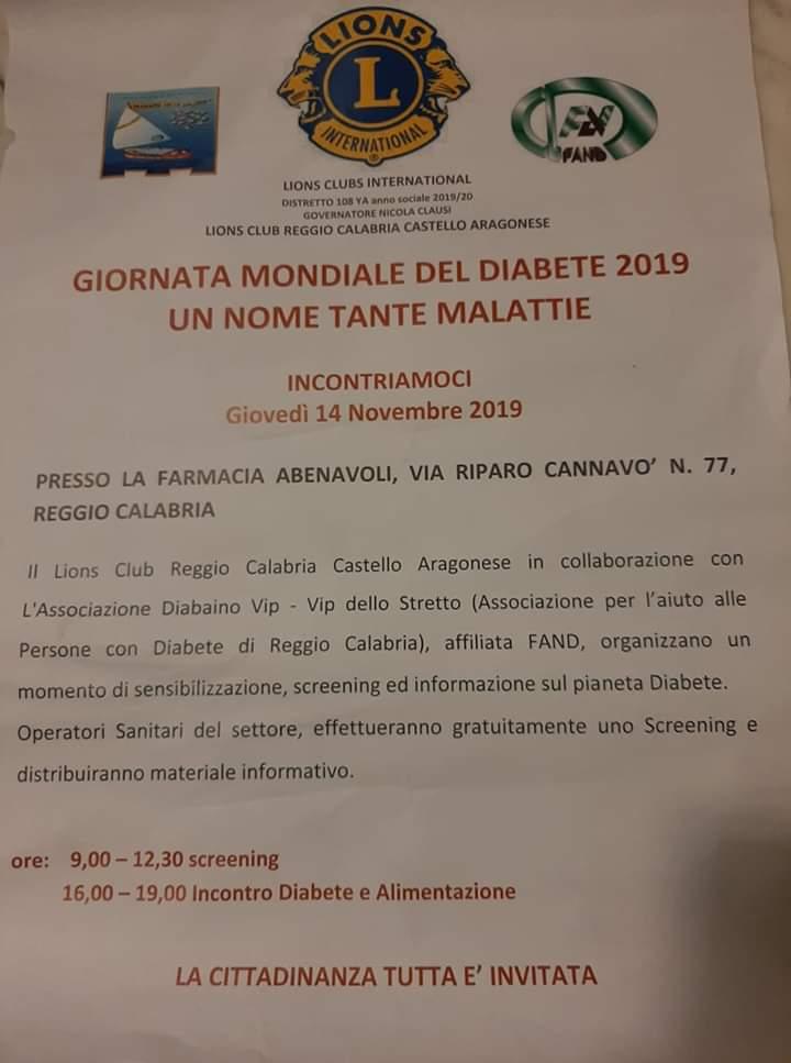 Un nome tante malattie – Reggio Calabria