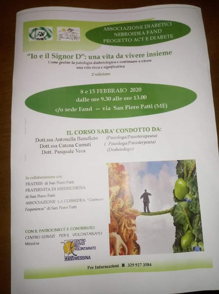 Diabetico Guida – San Piero Patti