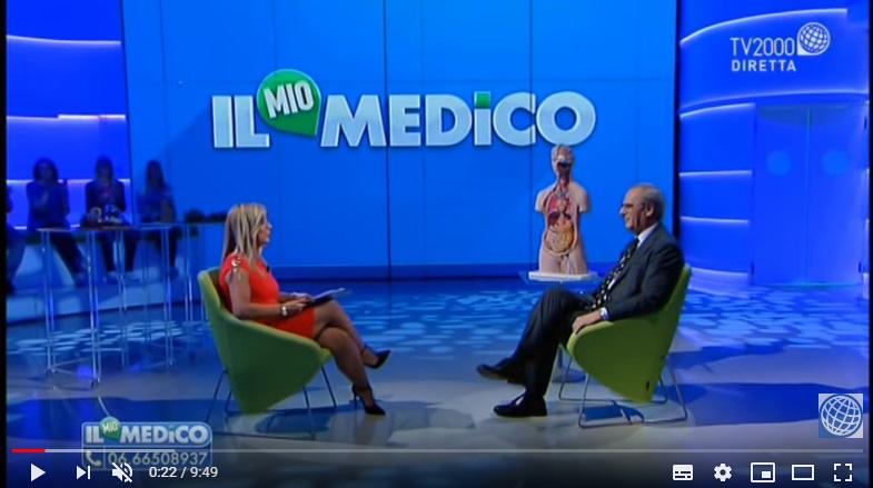 """Puntata """"IL MIO MEDICO"""" Prof. Guido Costamagna Dir. Endoscopia Digestiva Chirurgica POL.Gemelli Roma"""