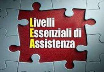 Definizione e aggiornamento dei livelli essenziali di assistenza (LEA), DPMC del 17 Gennaio 2017