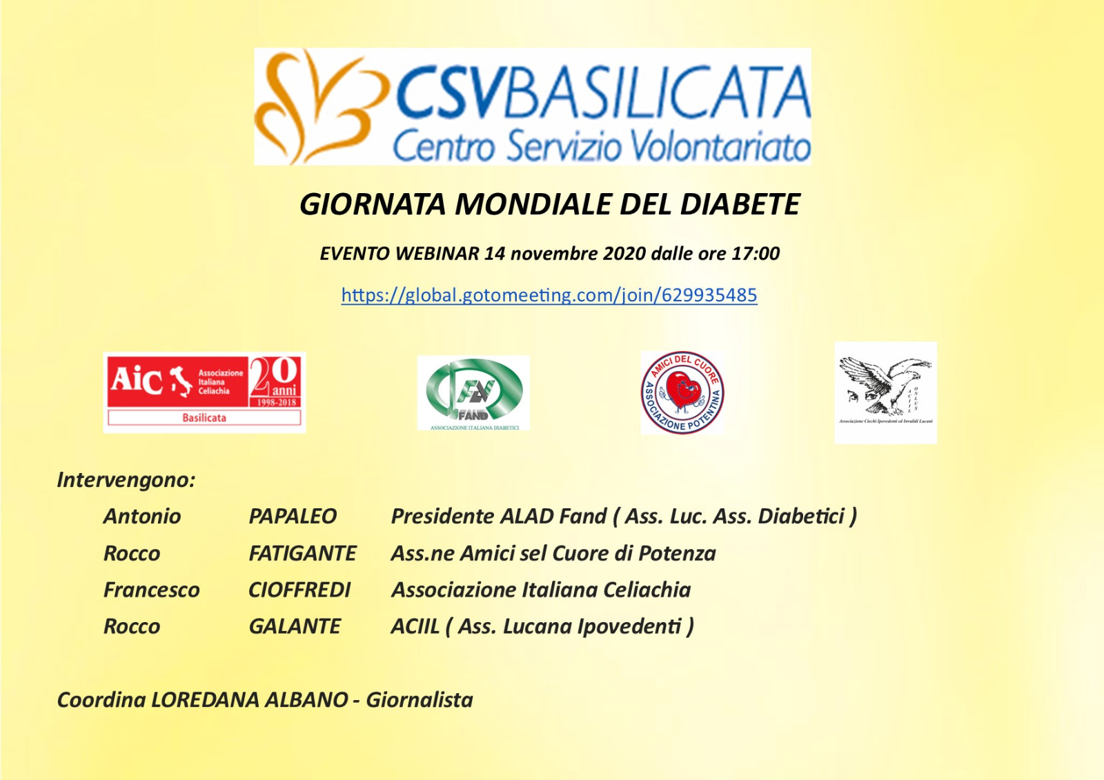 Nota Stampa GMD Basilicata
