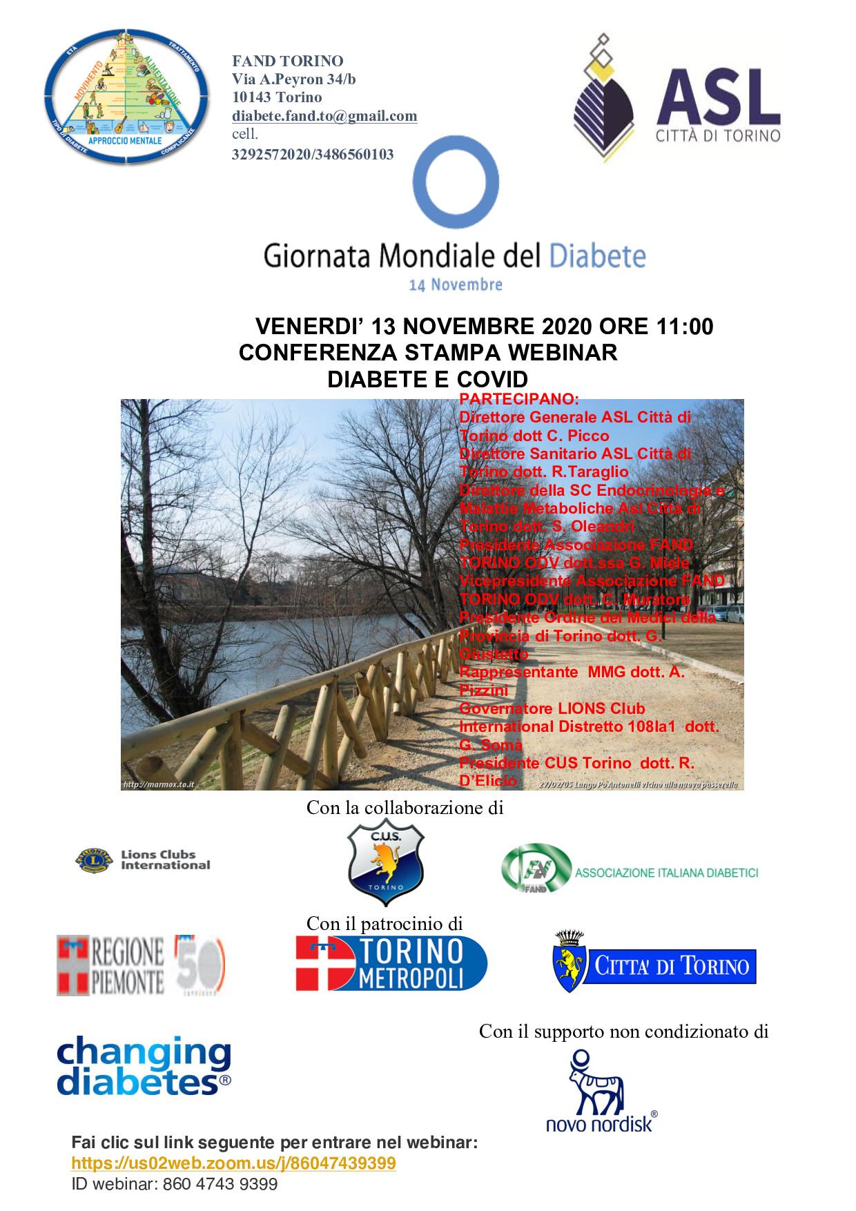 GMD Torino : Diabete e Covid