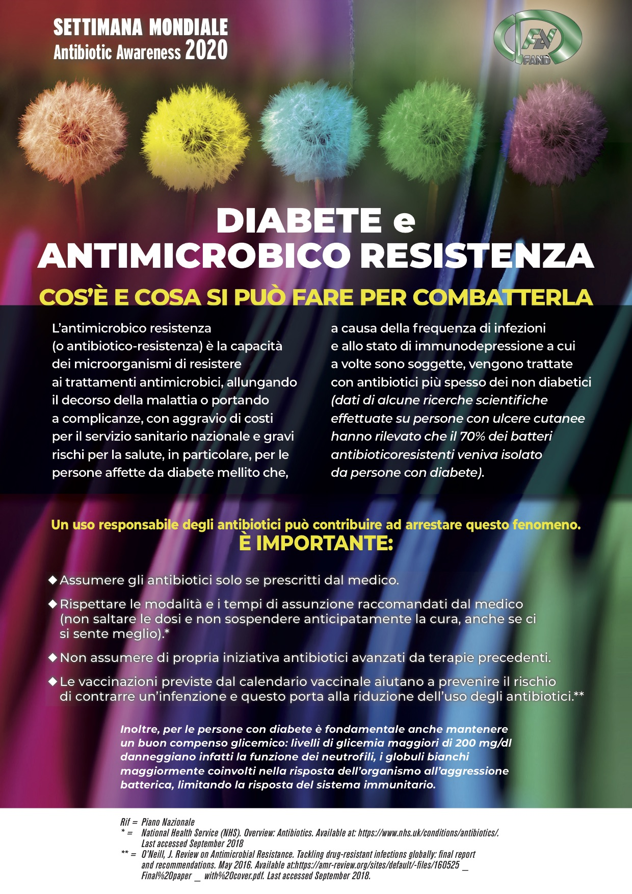 Diabete e antimicrobico resistenza