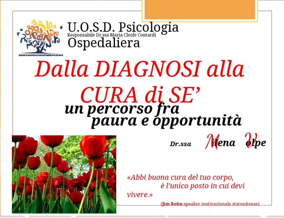 Dalla Diagnosi alla cura di Se – Dott.ssa Pscologa Milena Volpe